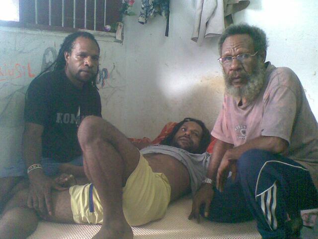 Numbungga Telengen,  Jefrai Murib and Apot Lokobal